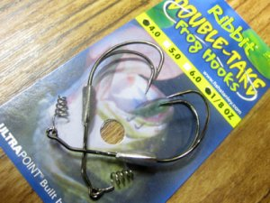 stanley/Ribbit Double-Take Frog Hooks 【Weighted】