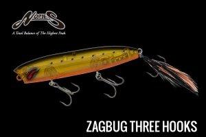 NORIES/ザグバグ Three Hooks