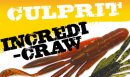 CULPRIT/ Incredi-Craw 【3.5''/4''】