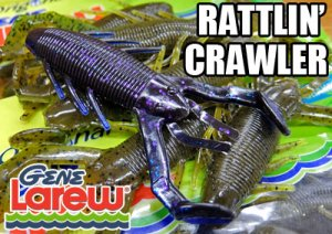 GENE Larew/RATTLIN'CRAWLER 4.25