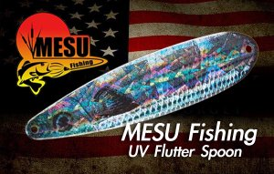 MESU Bait Company/UV FLUTTER SPOON