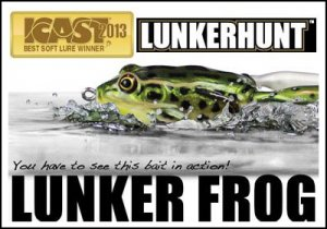 LUNKERHUNT/LUNKER FROG ランカーハント ランカーフロッグ