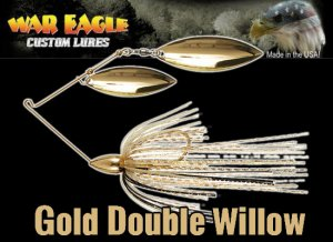 WAR EAGLE/Spinnerbait DW 【Gold】