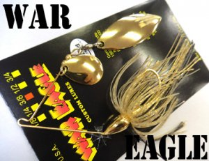 WAR EAGLE/Spinnerbait TW 【Gold】