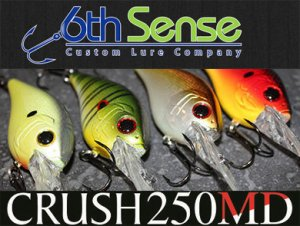 6th Sense Lure Company/CRUSH 250MD