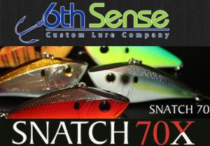 6th Sense Lure Company/SNATCH 70X