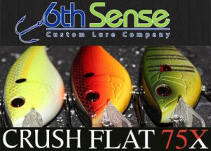 6th Sense Lure Company/CRUSH FLAT 75X