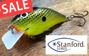 Stanford Lures/Balsa Patriot Shad 【Dives to 2.5ft.】