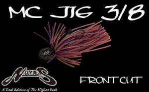 NORIES/MC JIG 3/8oz  【Front Cut】