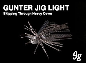 NORIES/GUNTER JIG LIGHT  ガンタージグライト【9g】