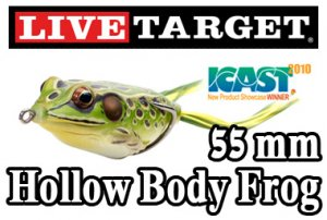 LiveTarget (ライブターゲット)/Hollow Body Frog 【55mm】 (ホローボディフロッグ)