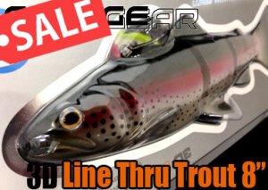 SAVAGE GEAR/3D Line Thru Trout 8
