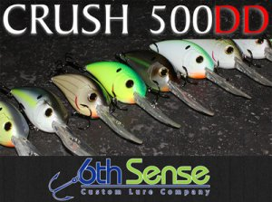 6th Sense Lure Company/CRUSH 500DD