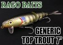 RAGO BAITS/GENERIC TOP TROUT 7