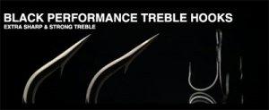 NORIES/BLACK PERFORMANCE TREBLE HOOKS