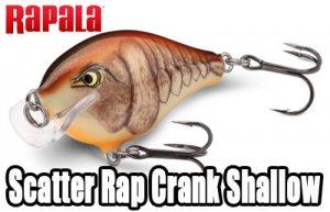 Rapala/ Scatter Rap Crank Shallow 【SSCRC-05】