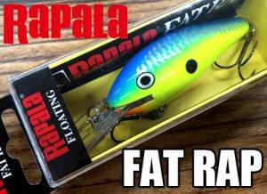 Rapala/ Fat RAP 【FR-7】