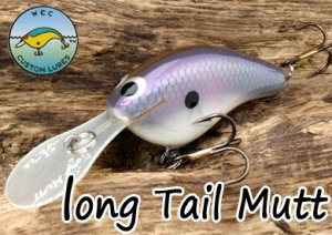 WEC CustomLures/ Long Tail MUTT 【2】