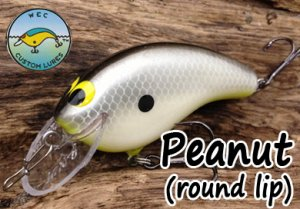 WEC CustomLures/Peanut 【round lip】