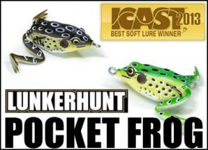 LUNKERHUNT/POCKET FROG ランカーハント ポケットフロッグ