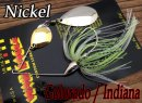 WAR EAGLE/Spinnerbait Colorado/Indiana 【Nickel】