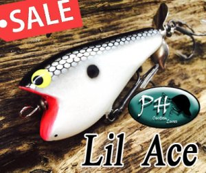PH custom lures/ Lil Ace