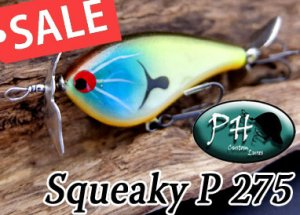 PH custom lures/ Squeaky-P 275