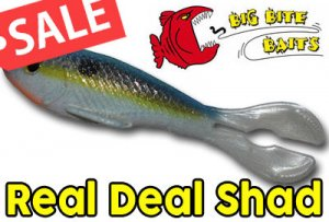BIG BITE BAITS/Real Deal Shad