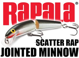 Rapala/ Scatter Rap Jointed Minnow