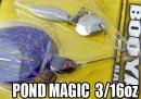 BOOYAH/POND MAGIC 【3/16oz】