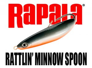 Rapala/ RATTLIN' MINNOW SPOON