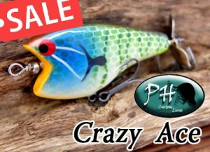PH custom lures/ Crazy Ace