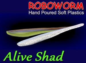 Roboworm/Alive Shad 3inch