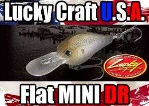 Lucky Craft USA/Flat Mini DR 【日本未入荷モデル】