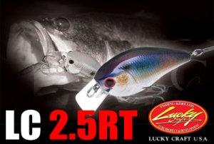 Lucky Craft USA/LC 2.5 RT 【日本未入荷モデル】