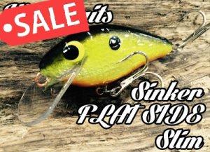 Wee Baits/Sinker FLAT SIDE slim