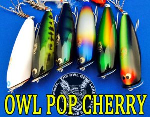 THE OWL GENE LURE'S/OWL POP CHERRY