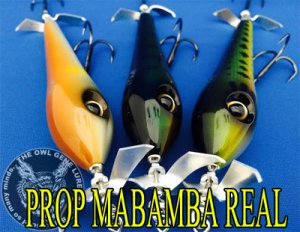 THE OWL GENE LURE'S/PROP MABAMBA REAL