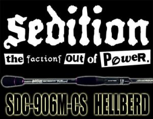 Sedition/SDC-906M-CS HELLBERD