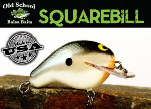 Old School Baits/Square Bill 1