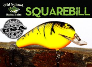 <img class='new_mark_img1' src='https://img.shop-pro.jp/img/new/icons55.gif' style='border:none;display:inline;margin:0px;padding:0px;width:auto;' />Old School Baits/Square Bill 2
