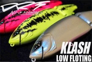 DIVISION REBEL TACKLES(DRT)/KLASH 9 クラッシュ 9【LOW  FLOAT】