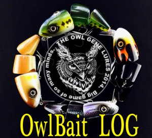 THE OWL GENE LURE'S/OwlBait LOG 2015