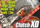 Lucky Craft / Clutch XD 【問屋オリジナルカラー】