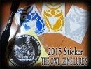 THE OWL GENE LURE'S/2015 リフレクターOWL ステッカー
