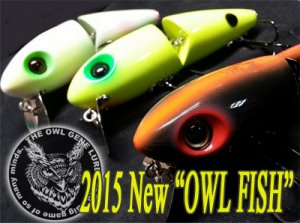 THE OWL GENE LURE'S/2015 New OWL FISH