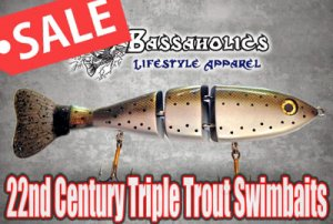 22nd Century Swimbait Company/ Triple Trout Swimbaits