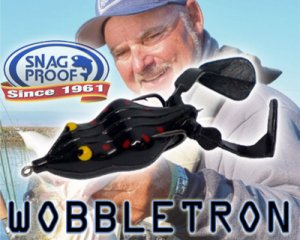 Snag Proof/Wobbletron Frog