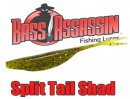 BASS ASSASSIN/Split Tail Shad