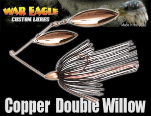 WAR EAGLE/Spinnerbait DW 【Copper】
